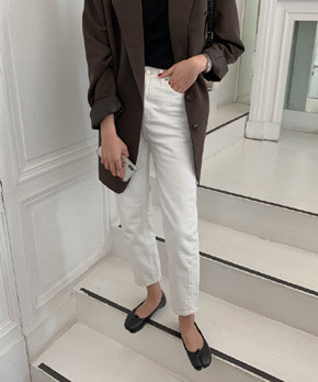 Truly pants (ivory)